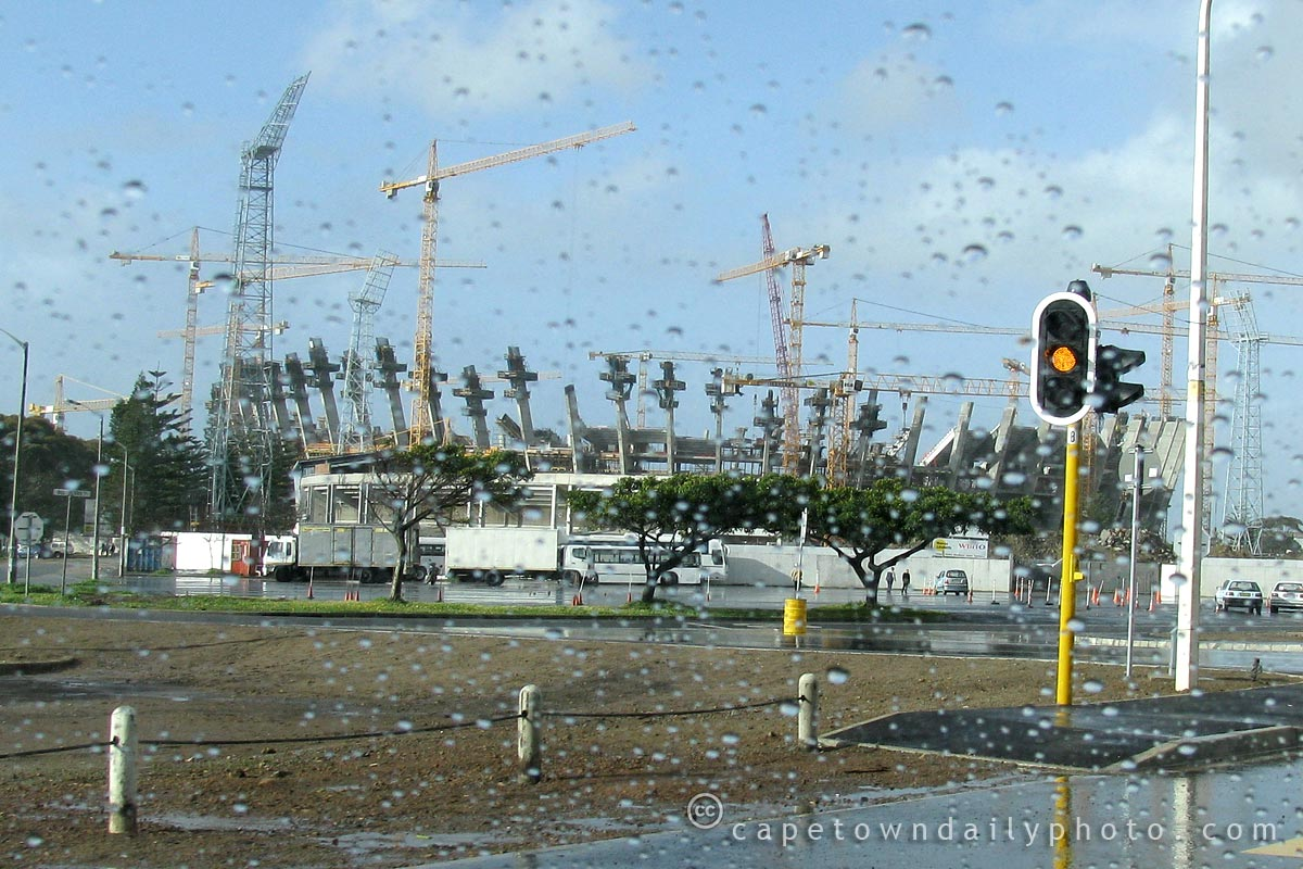 Green Point Stadium: progress