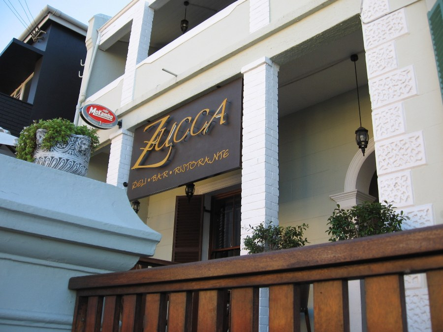 Zucca Deli, Bar and Restaurant