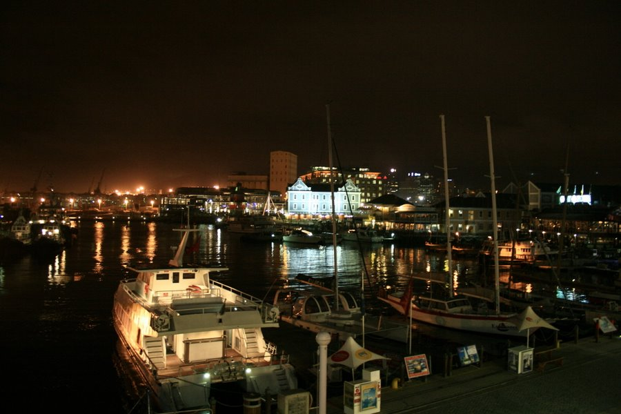 Harbours at night