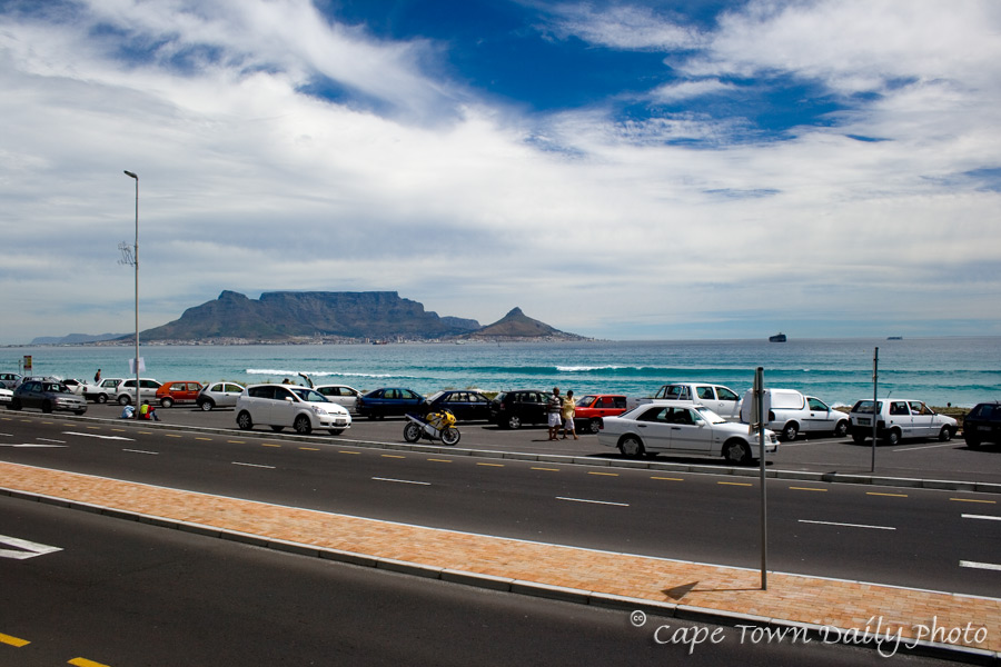 A hot day at Table Bay