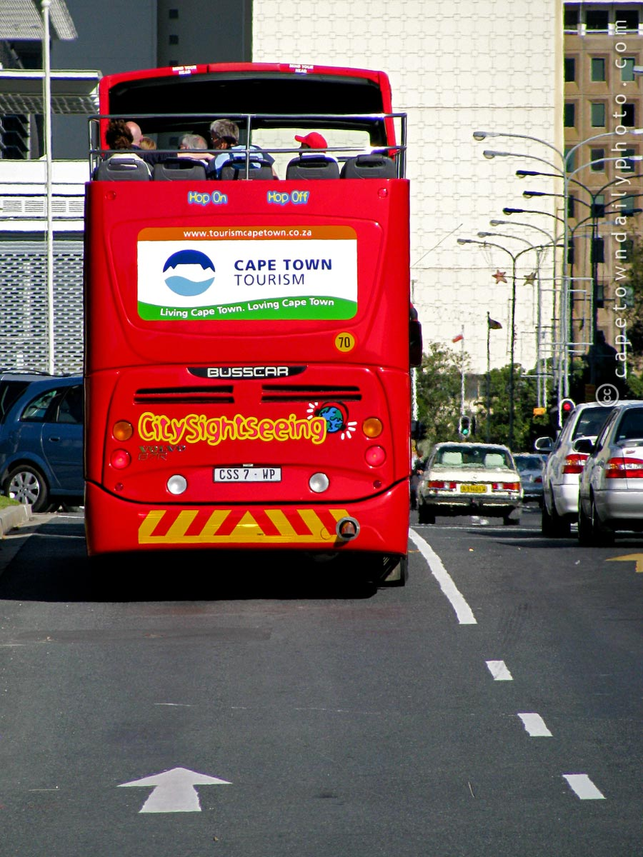 It's a Hop-On Hop-Off bus