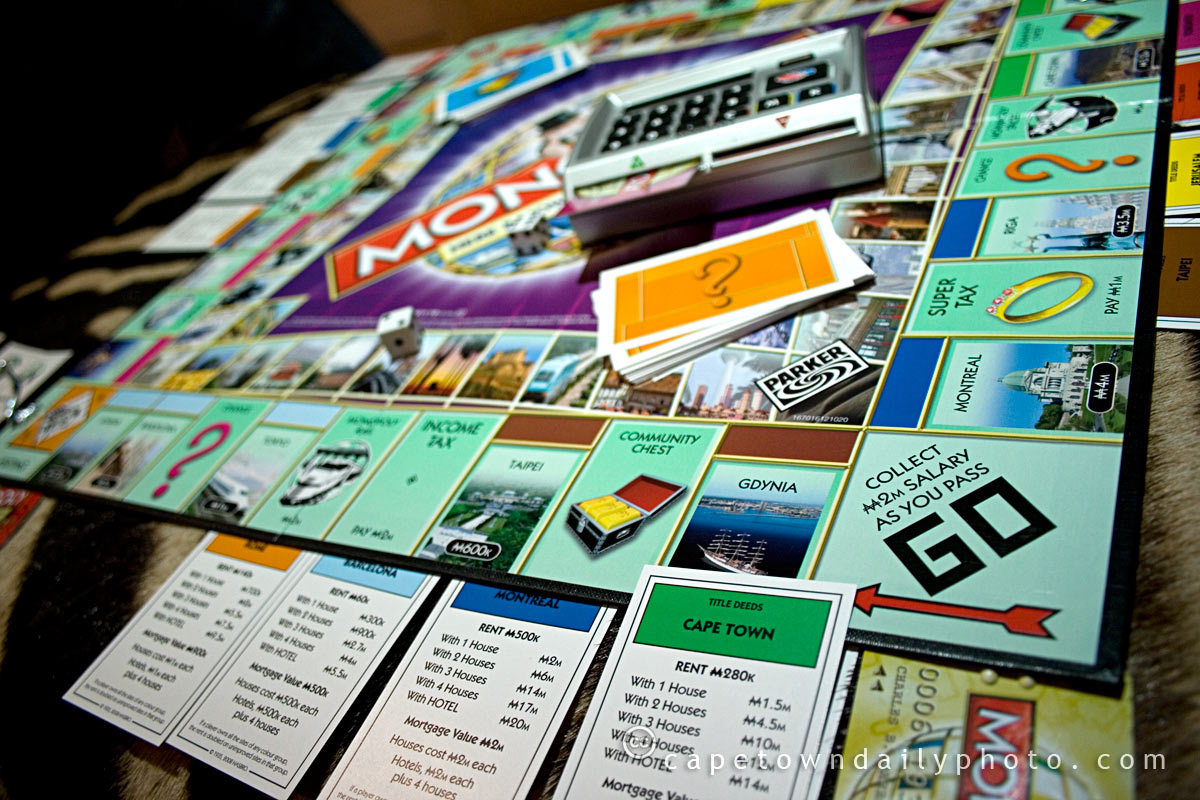 Cape Town in the World Version of Monopoly