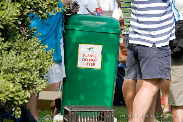 Please do not litter