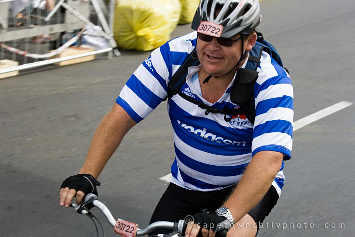 Western Province Rugby Cyclist