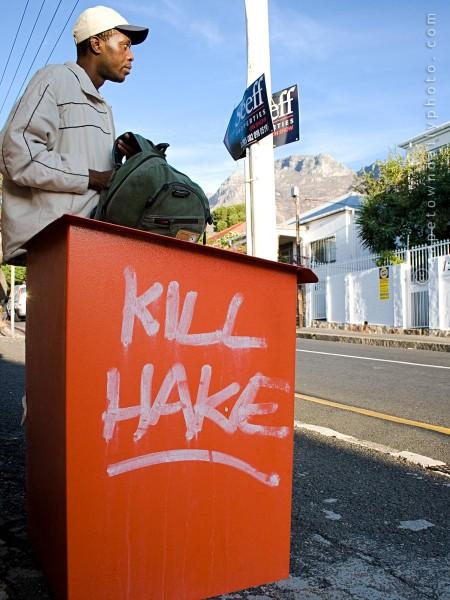 Kill Hake graffiti