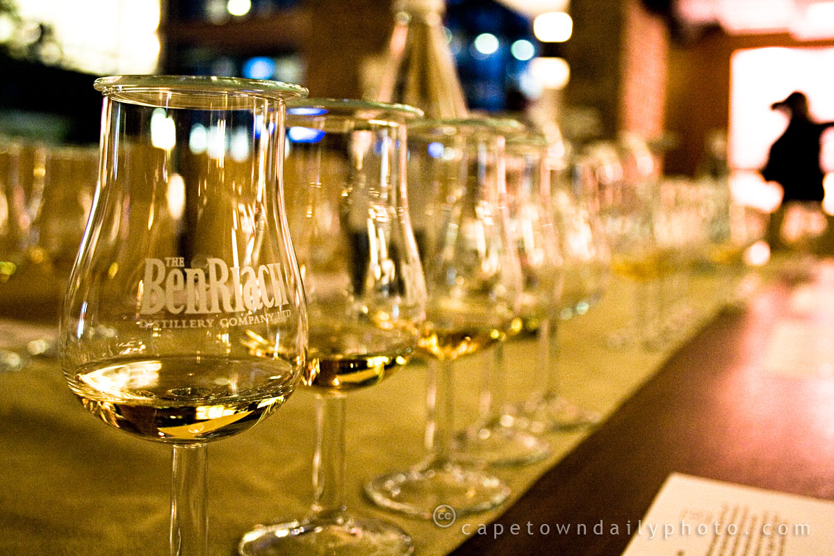 BenRiach whisky tasting glasses