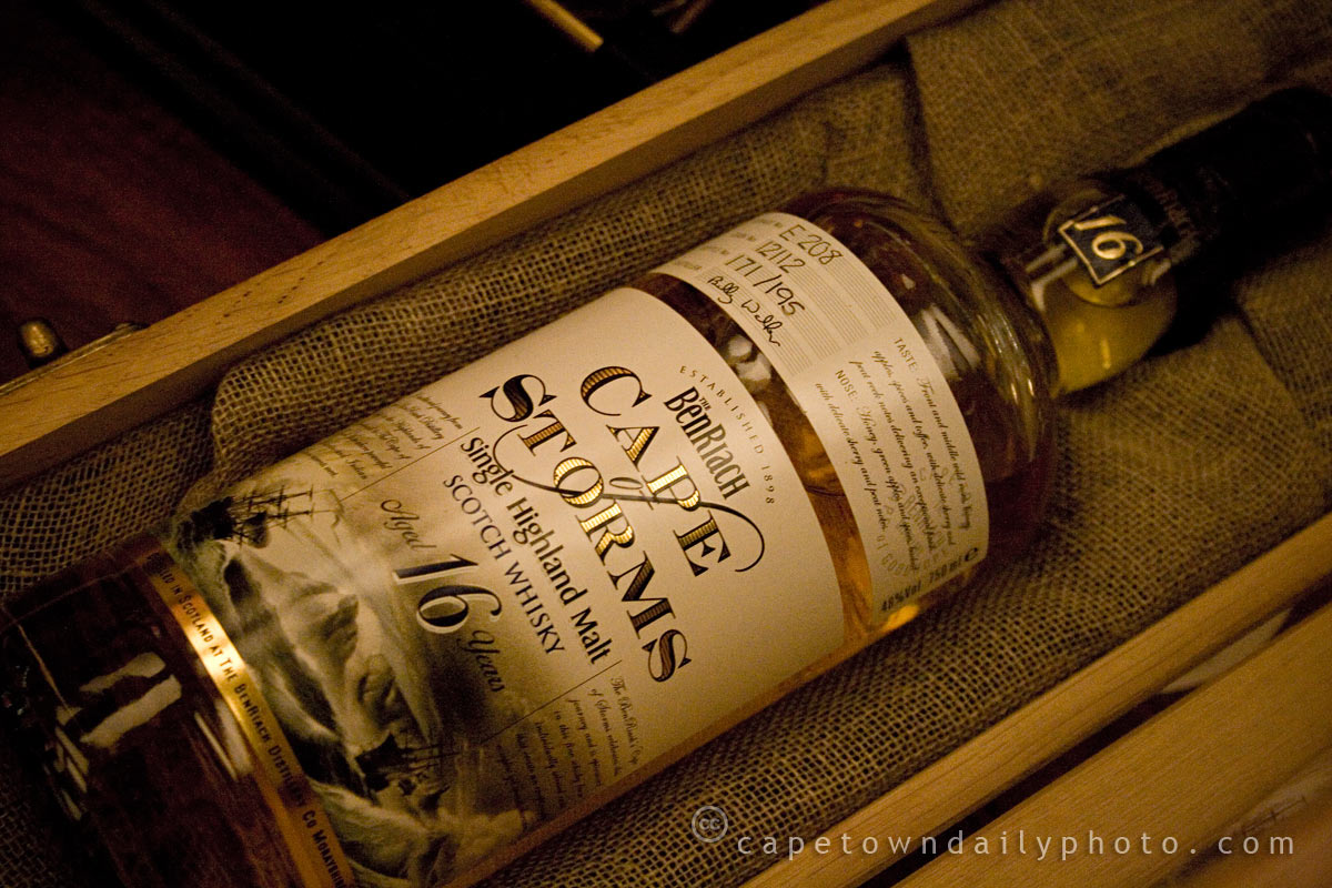 Benriach's 16-year old Cape of Storms whisky