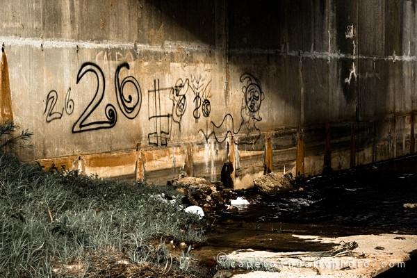 Graffiti under the N1