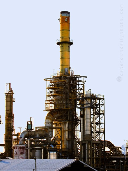 Caltex oil refinery