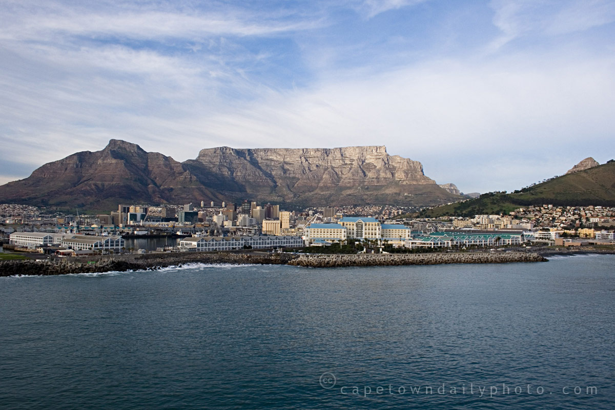 Table Mountain and the Table Bay
