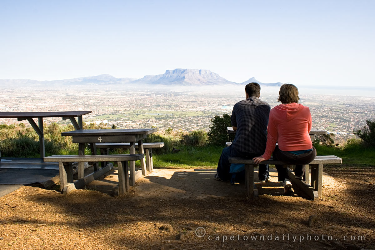 Table Mountain from Tygerberg Hill