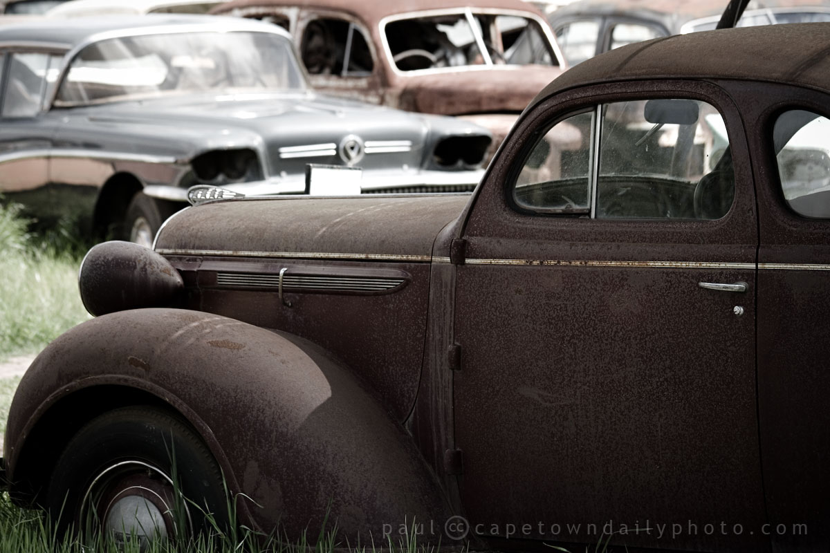 An old, old car