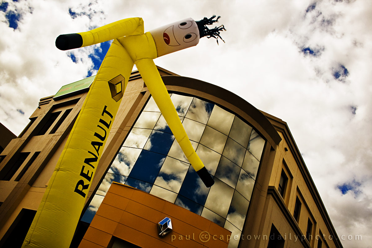 Bendy-man at Renault