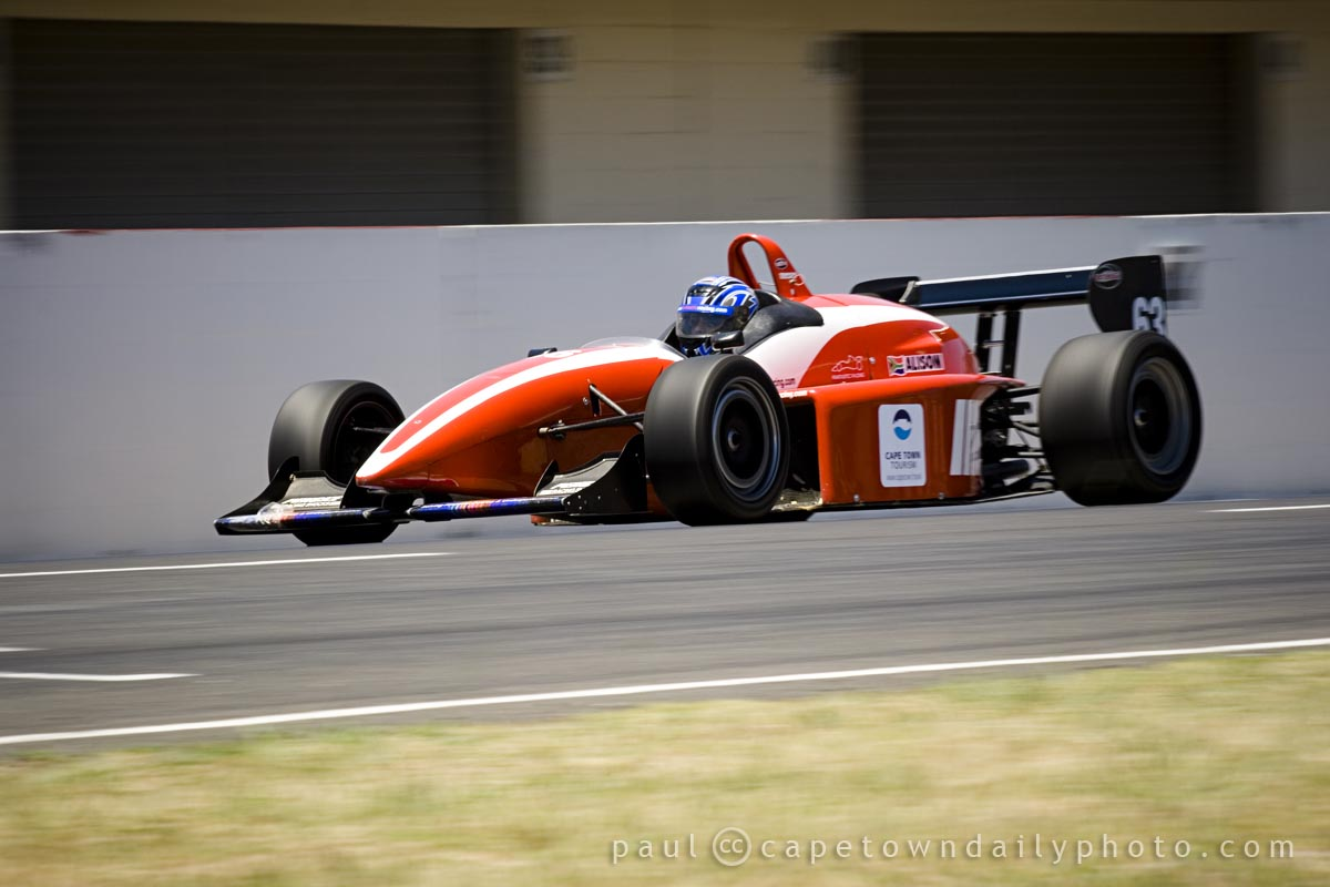 Reynard single-seater racing at Killarney