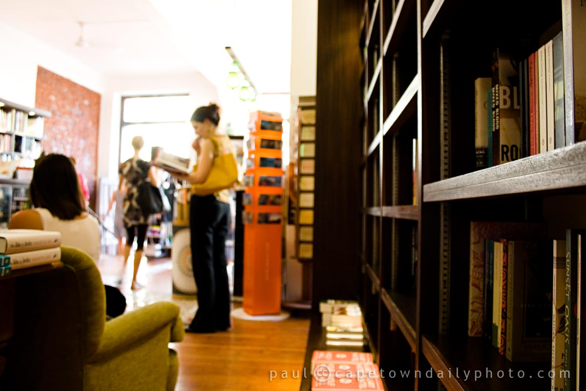 The Book Lounge in Roeland Street