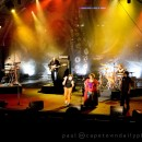 Johnny Clegg and his band at AquaFestival 2009