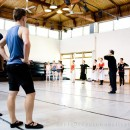 Ballet rehearsal at the UCT School of Dance