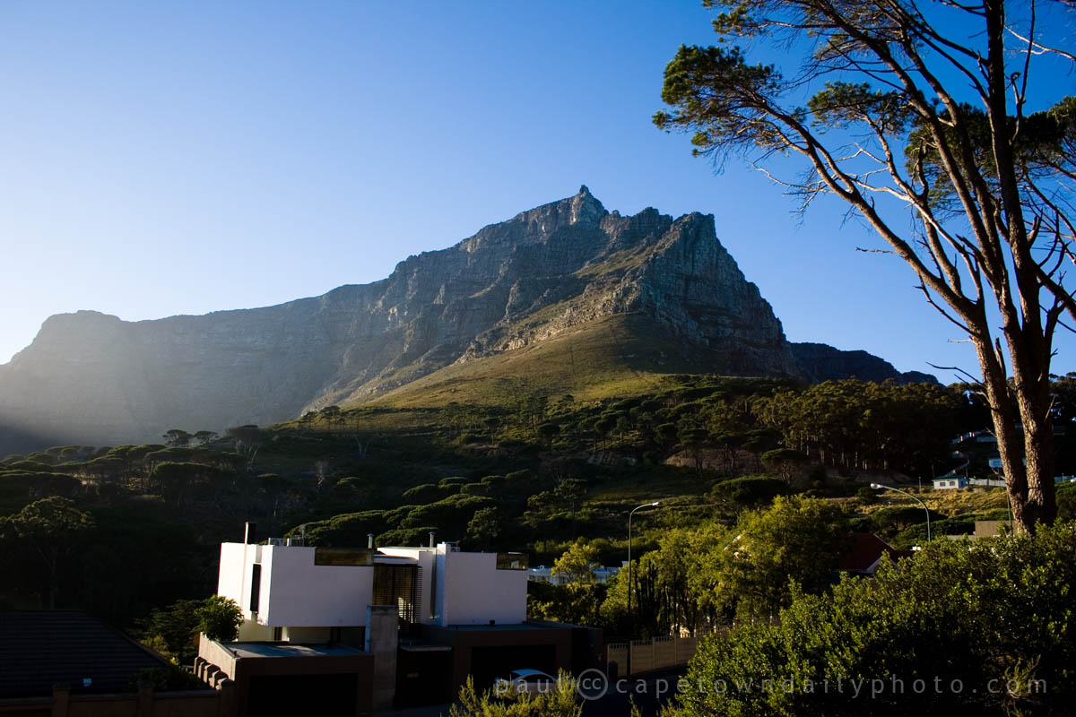 Table Mountain from a different perspective