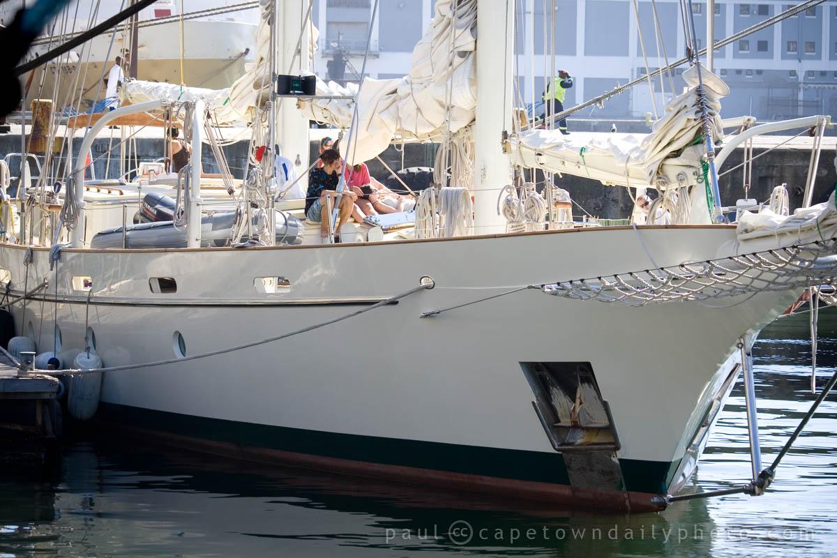A yacht named Argo