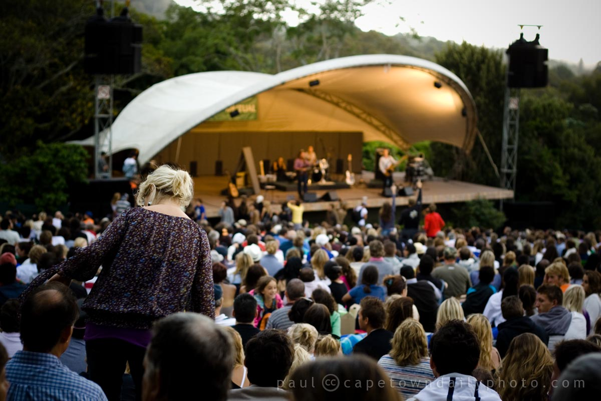 Concert season at Kirstenbosch | Cape Town Daily Photo