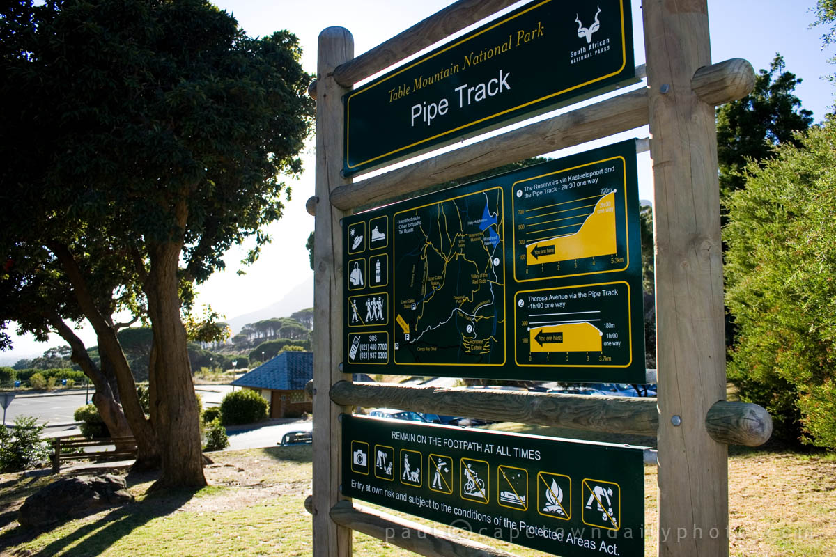 Hiking the Pipe Track