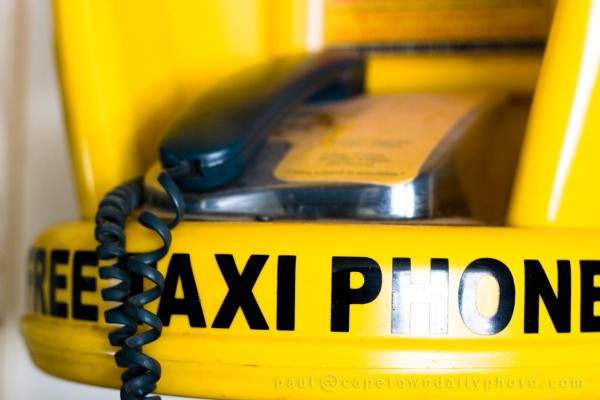 Emergency taxi phone