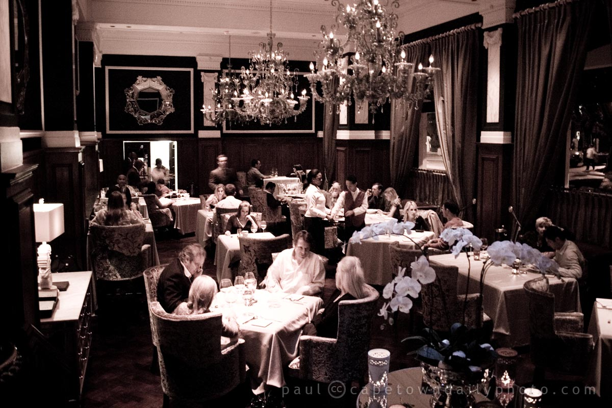 Dining at the Bombay Brasserie