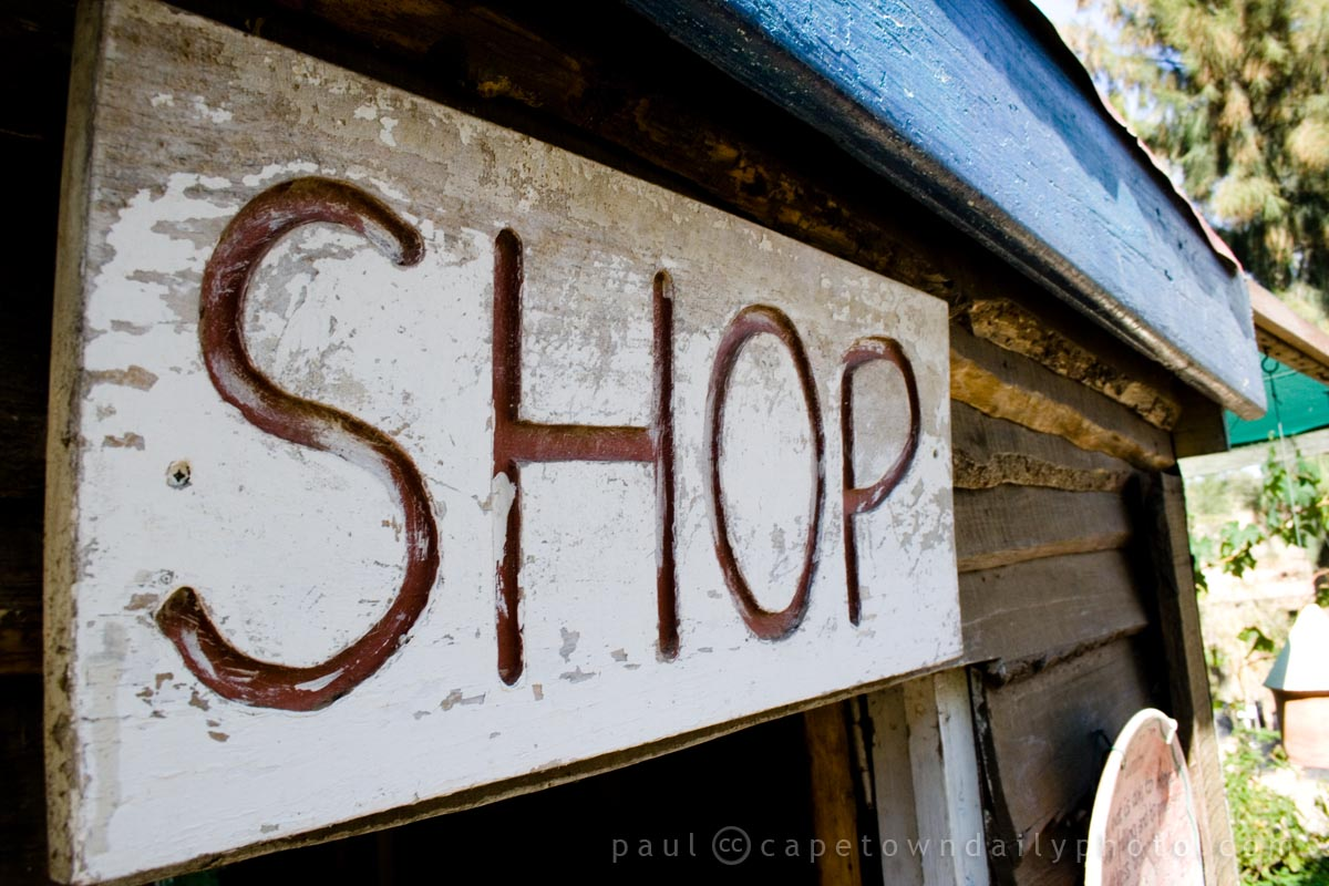 Rustic Rural Shop