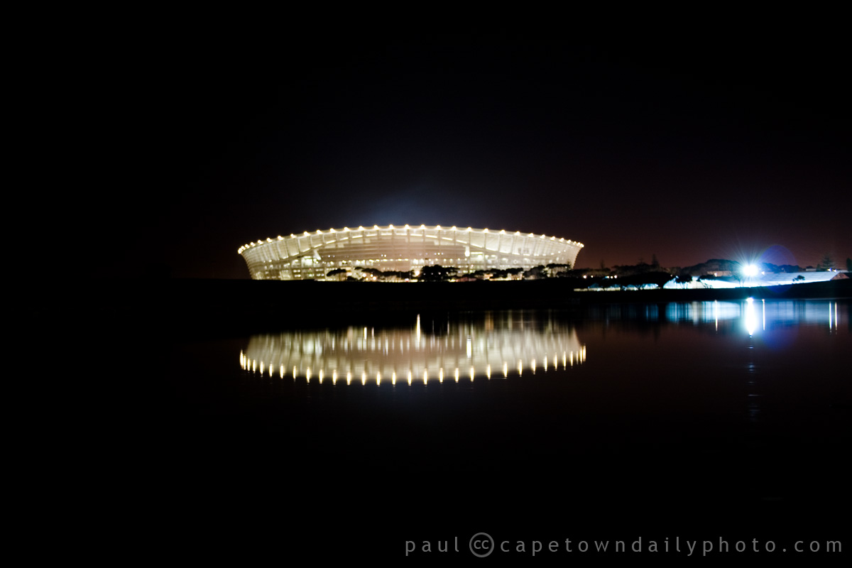 Cape Town Stadium after England vs. Algeria