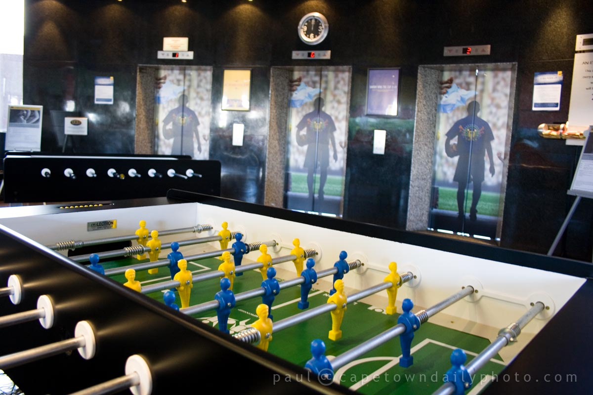 Foosball and Elevators
