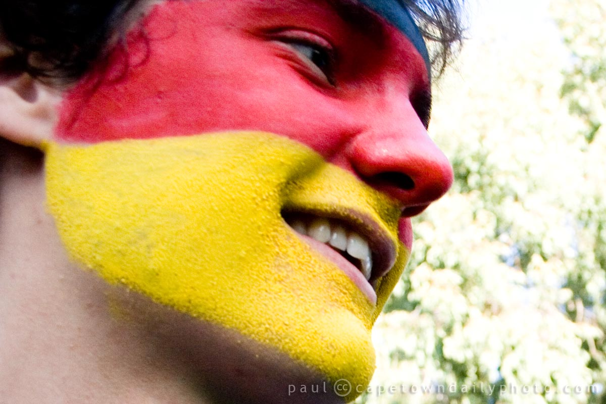 A German fan