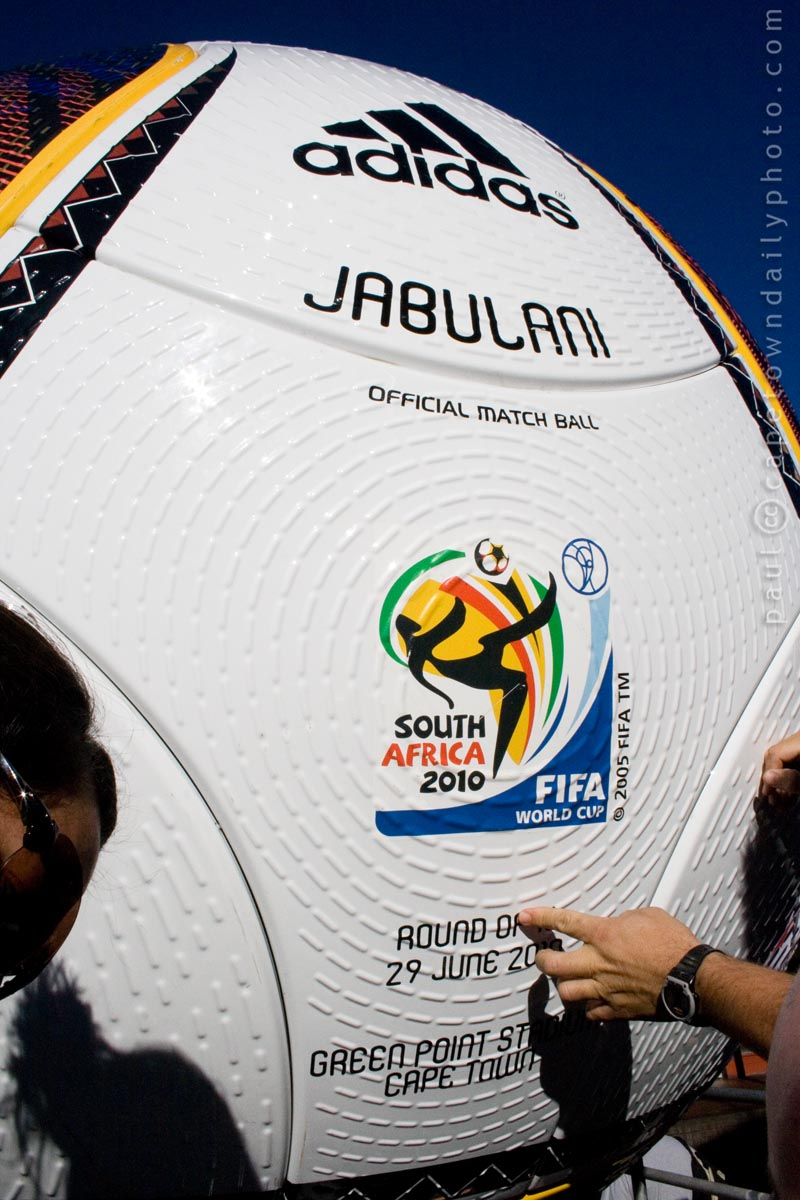 The Jabulani soccer ball