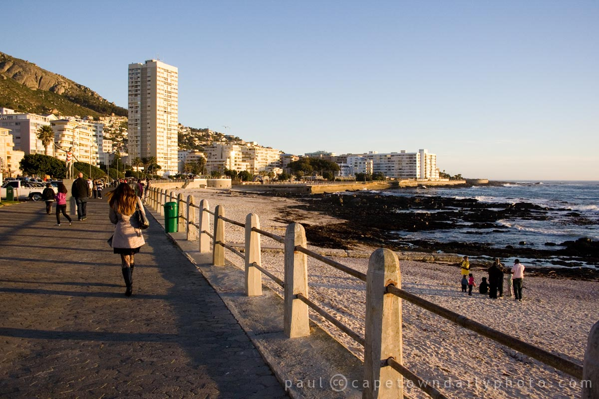 A Beautiful Sea Side Walk Cape Town Daily Photo