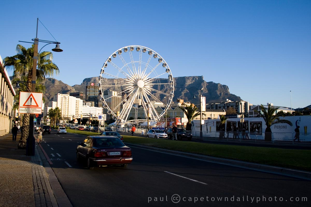 The big wheel of Cape Town