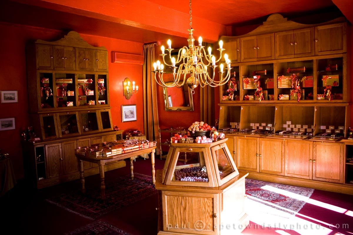 Inside Torino Chocolate House