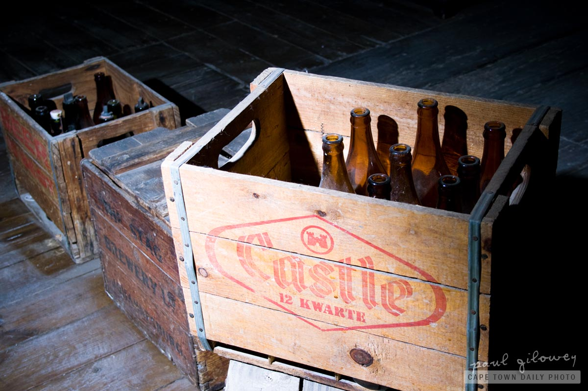 Crate of beer