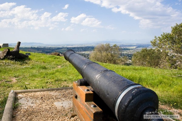 Cannon on a hill
