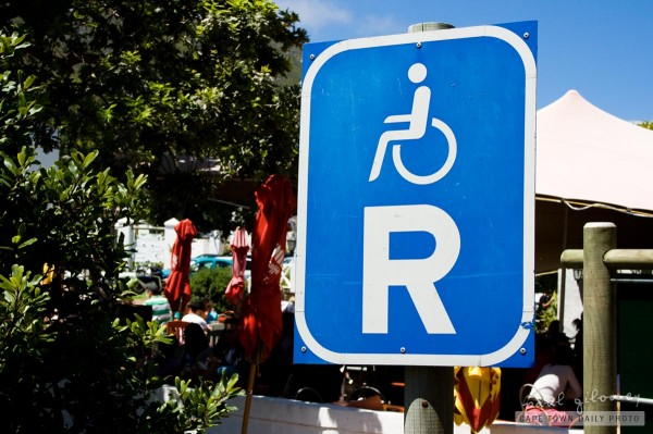 Reserved for wheelchairs