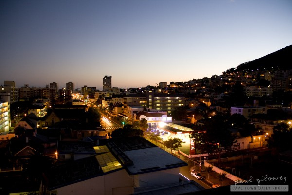 Early-morning Sea Point