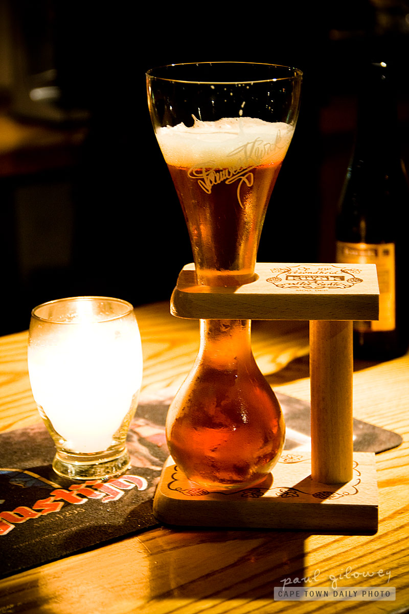 Den Anker's shoe-beer