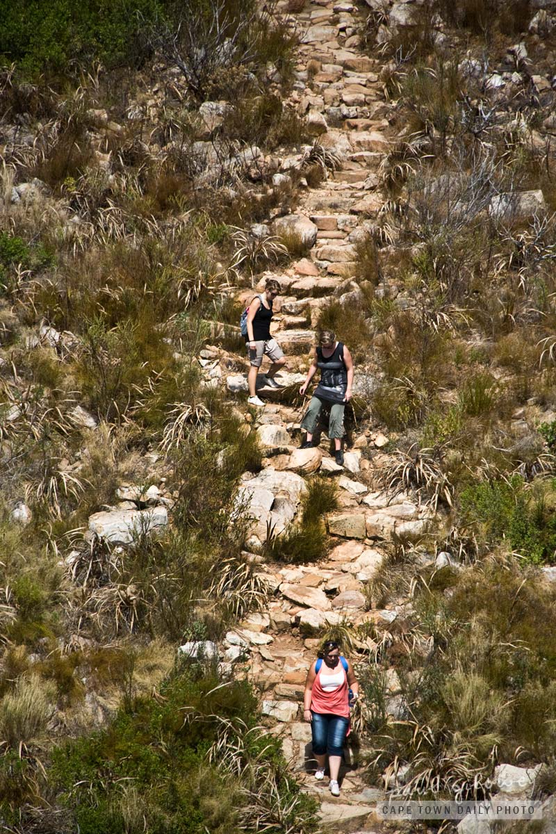 Hiking on Table Mountain
