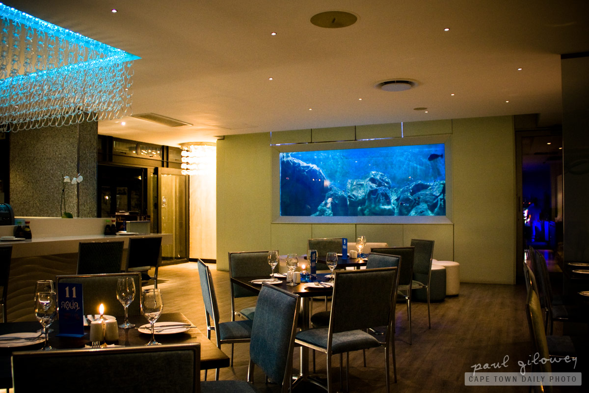Aqua Restaurant at the Cape Quarter