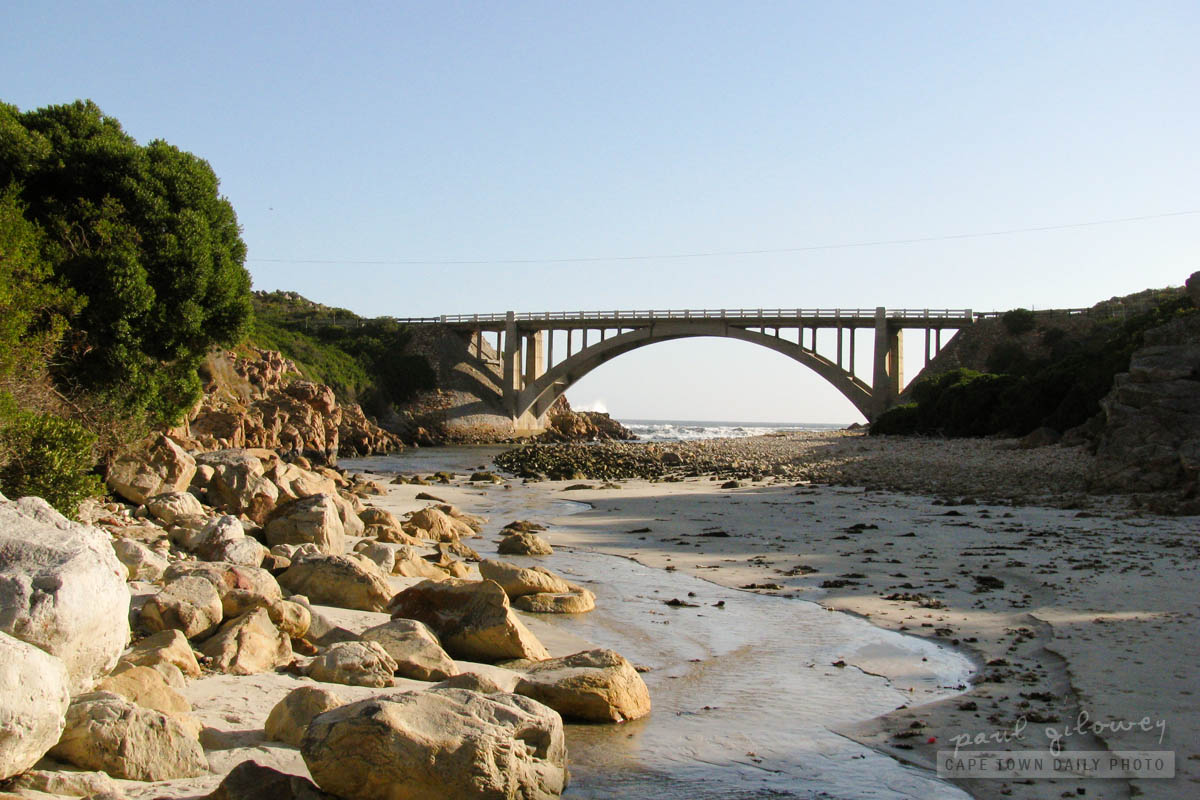 Steenbras River mouth