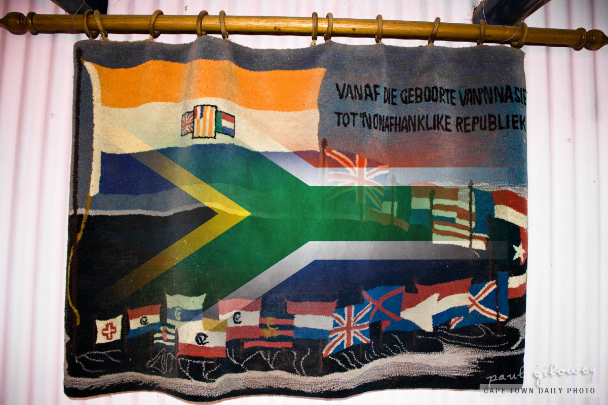 Past South African flags