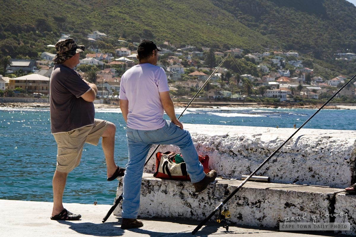 Fishermen at Kalk Bay