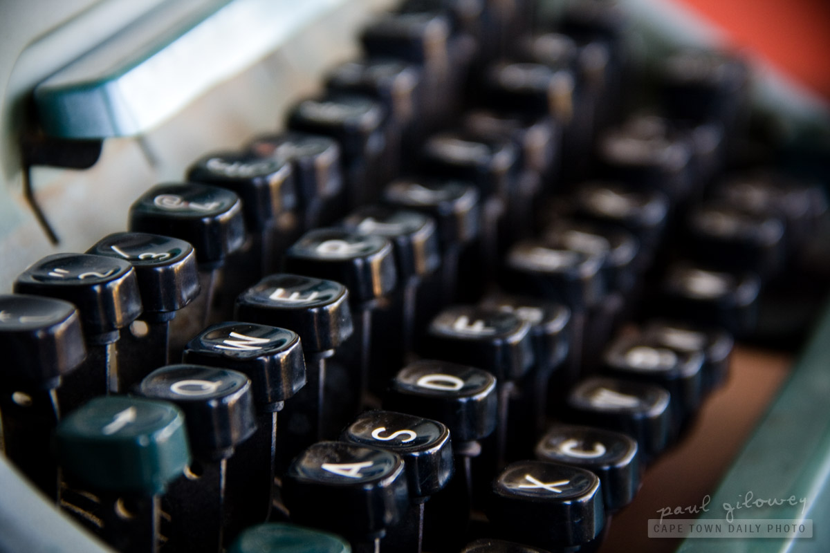 Old typing keys