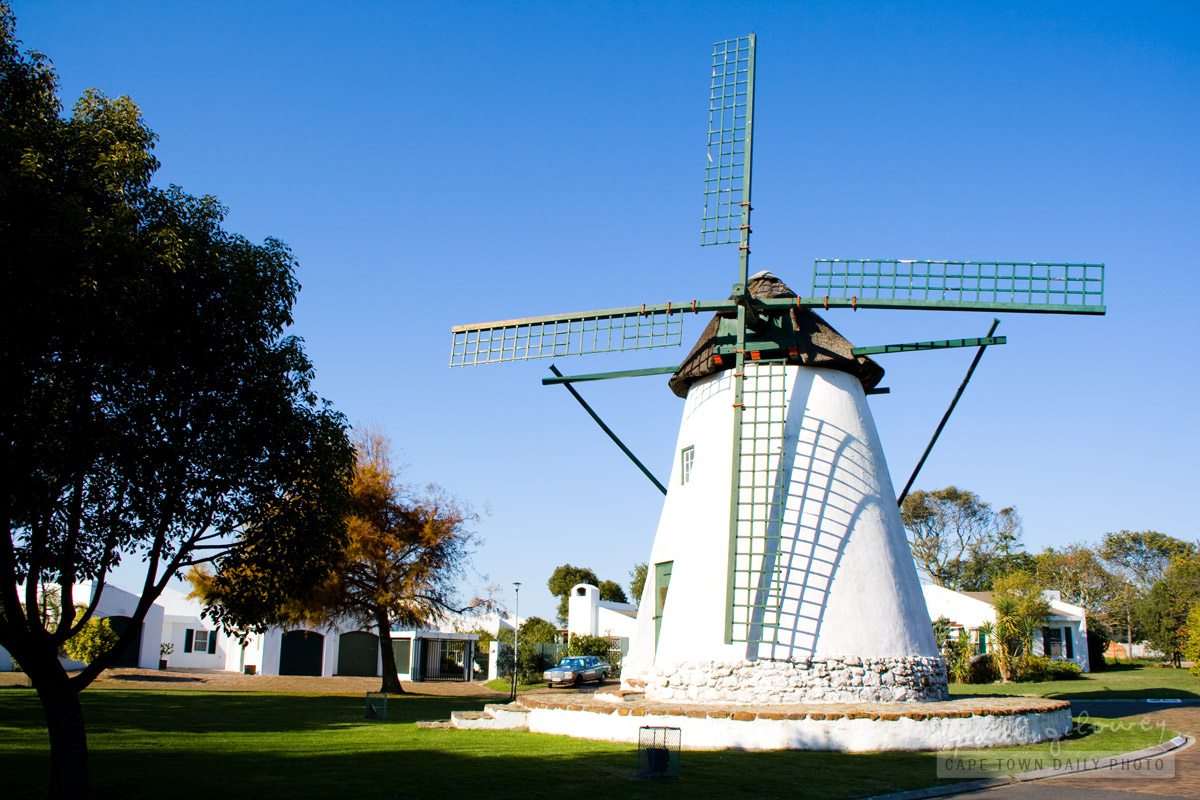 A windmill in Durbanville