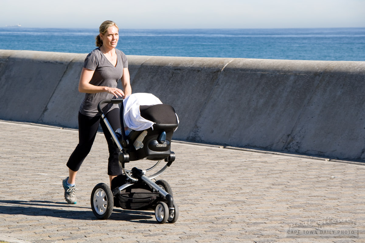 High-speed stroller