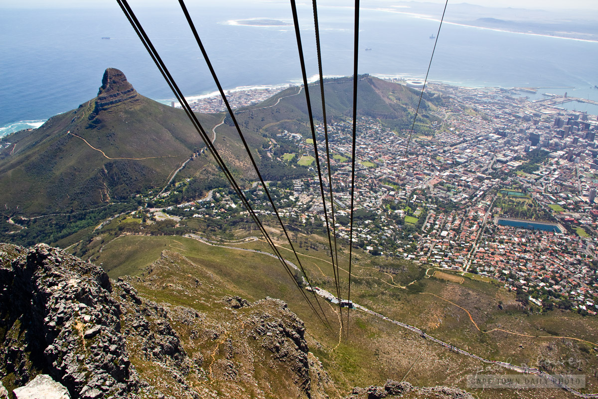 View from the top - Table Mountain
