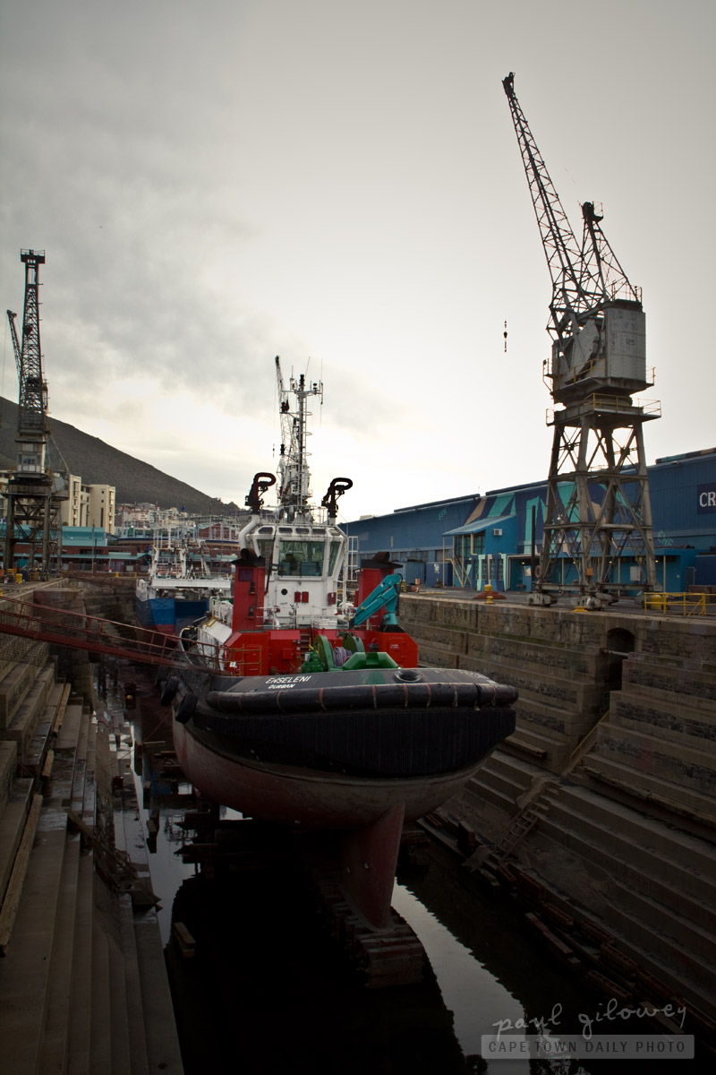 The V&A Waterfront's Robinson drydock
